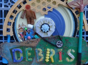 Debris (detail) by Pete Clarkson